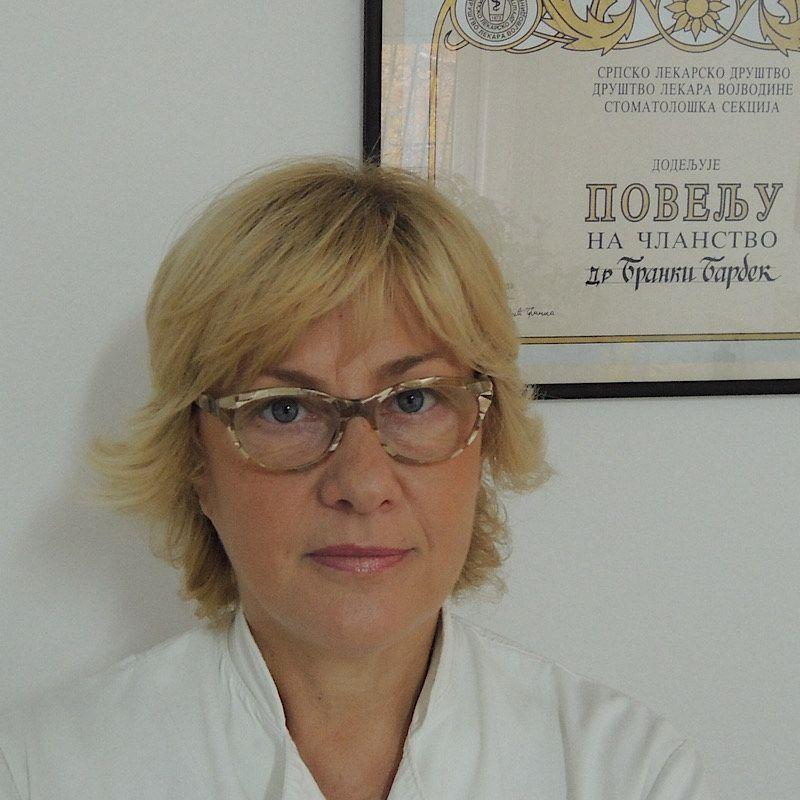 Spec. Dr Branka Barbek