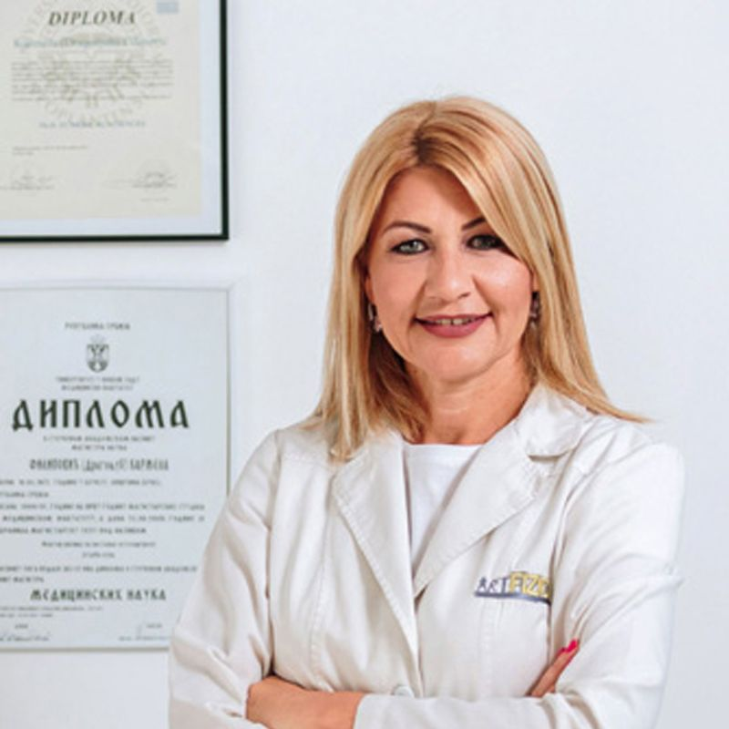 Prim. dr sci. med. dr Karmela Filipović